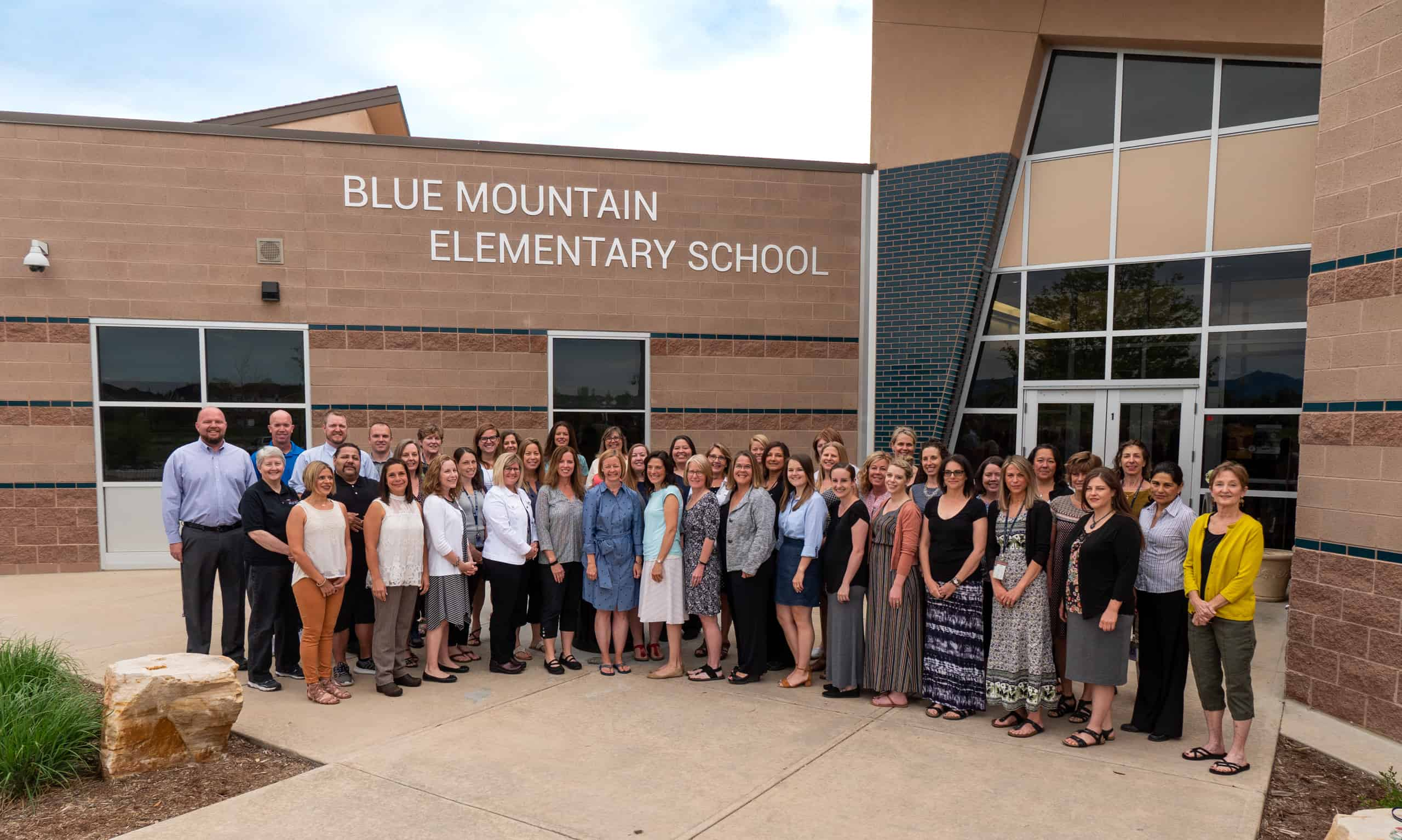 Blue Mountain Elementary Staff